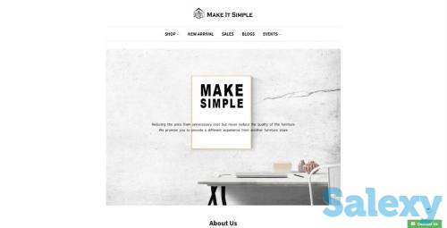 Make It Simple Furniture Online Store, photo 1