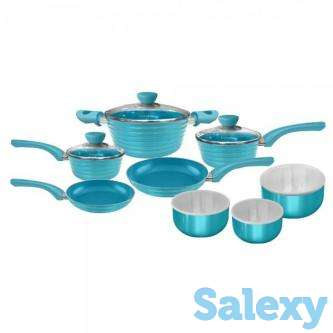 CeraPan Beehive 14pc Set - Blue, photo 1