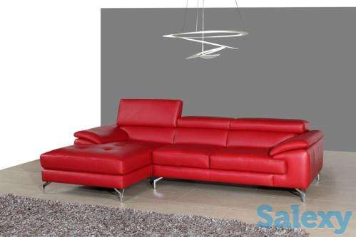 A973B Sectional Sectional Sofa in Red Color, photo 1