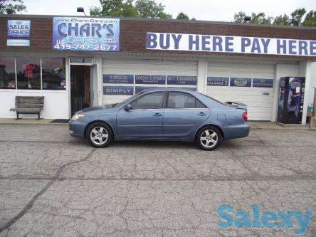 2003 Toyota Camry LE as low as 700 down WAC, photo 1