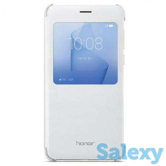 Huawei Honor 8 Flip Cover Case - White, photo 1