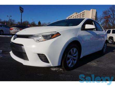 2016 toyota corolla with gauranteed approval and financing, photo 1