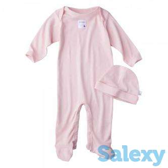 Burt's Bees Baby Newborn Organic Lap Shoulder Coverall and …, photo 1
