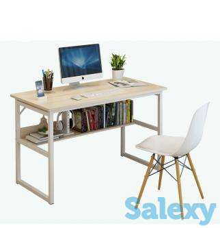 ZIMPLIFE Computer Desk PC Laptop Table Study Workstation Home of, photo 1